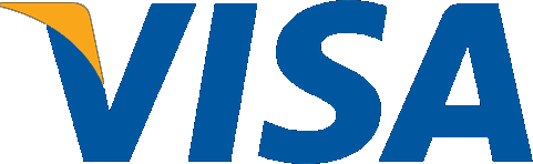 Visa transparent logo.
