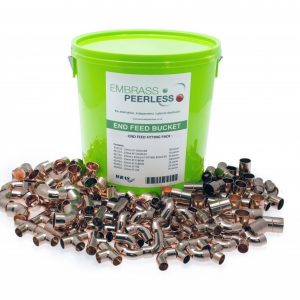 Embrass peerless end feed bucket fitting pack.
